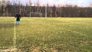 KEEPERtraining Komplexübung flacher Ball - Auswurf - Flanke