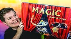Ich teste einen MAGIC ADVENTSKALENDER für Zauberer Anfänger 🤣