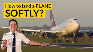 WHAT IS A FLARE? And how to perform SOFTER landings? Explained by CAPTAIN JOE