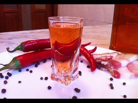 Перцовка / Рецепт Настойки на Самогоне / Домашняя Настойка / Pepper Vodka Recipe