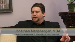 Jonathan Mansberger of Kreativ Medium on #SCENETV