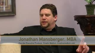 Jonathan Mansberger of Kreativ Medium on #SCENETV