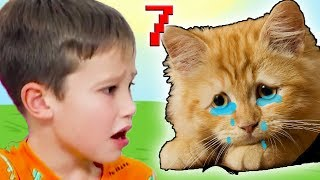 КРАСНЫЙ ШАР МИСТЕР МАКС спасает кошку Мурку, мультик игра Детский летсплей #48