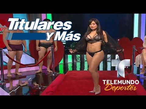 Les trajimos sexys modelos en San Valentín | Titulares y Más | Telemundo Deportes