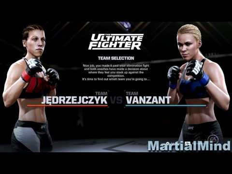 EA Sports UFC 2 Career Mode Playthrough Part 1