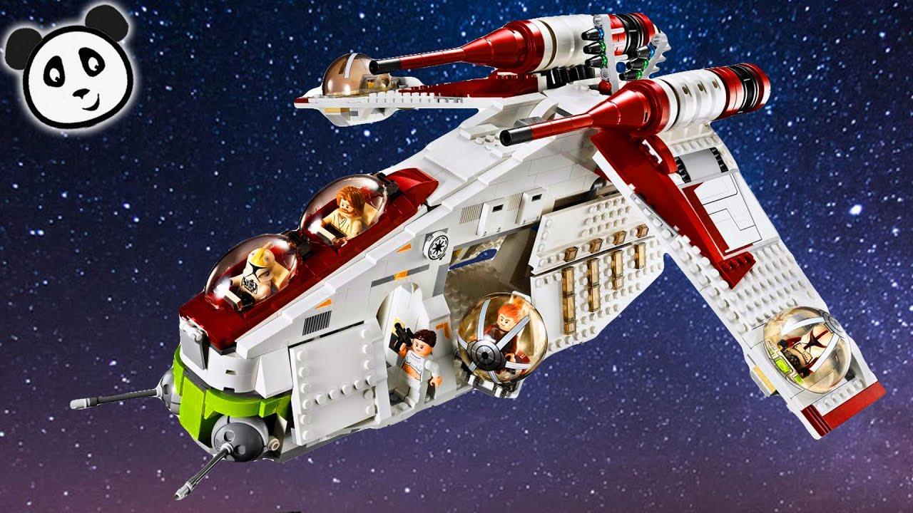 Lego star wars deutsch republic gunship spielzeug