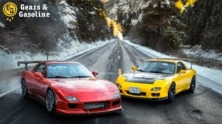Driving 48 States in Two Mazda FD RX7s - Episode 1