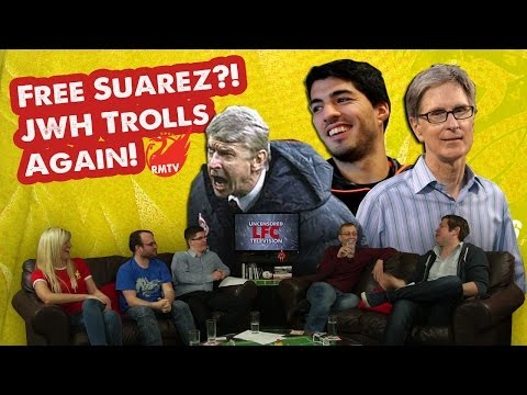 Free Suarez: John W Henry Trolls Arsenal Fans AGAIN!!!