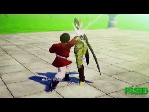 Hercule VS Cell-Dragon Ball Z Kakarot Cutscene