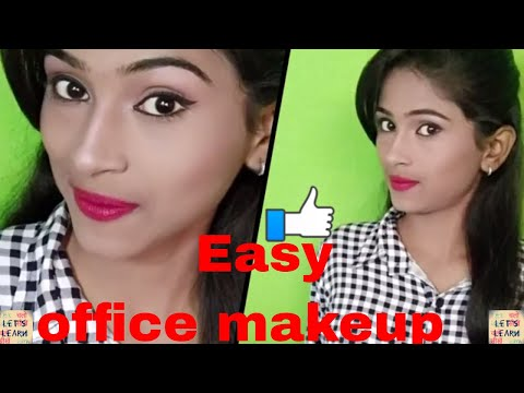 Winter office makeup for girls in hindi || Let's Learn beautician course
