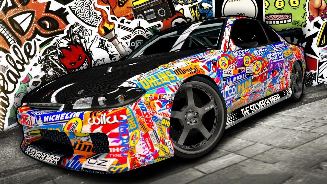 Sticker Bomb Car Wallpaper Forza 4 The Sticker Bomber Youtube