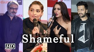 Angry B-Town Condemned attack on Bhansali during 'Padmavati' shoot