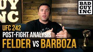 The truth regarding Paul Felder vs Edson Barbosa...