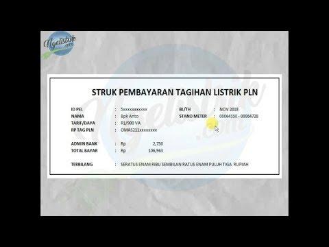 Berikut kami berikan tutorial cara menghitung tagihan rekening listrik PLN Nonsubsidi, untuk tutoria.