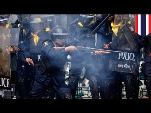 Three killed as Thai police try to clear protest sites in Bangkok