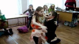 """Танец """"Лиса Алиса и Кот Базилио!!!"""""""