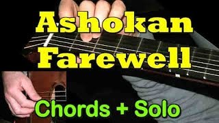 ASHOKAN FAREWELL: Easy Guitar Lesson + TAB + CHORDS by GuitarNick