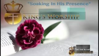 Soaking In His Presence- Worship Instrumental Piano Prayer Music