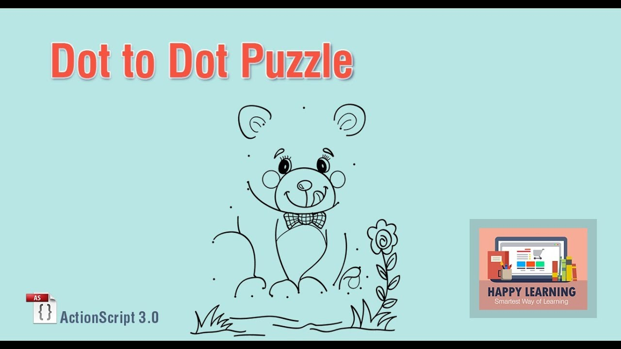 Making a Dot to Dot Puzzle Game in Adobe Flash Using ActionScript ...
