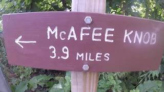 #37 Reaching McAfee Knob on the Appalachian Trail