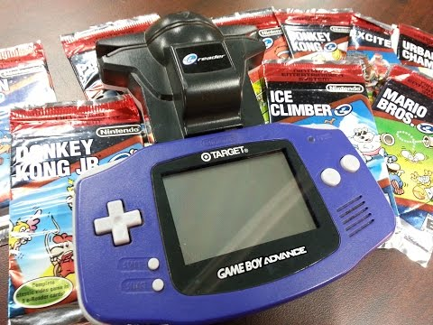 Classic Game Room - NINTENDO E-READER review for Game Boy Advance
