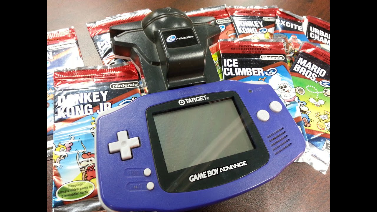 Image Result For Classic Game Room Nintendo E Reader Review For Game Boy Advance Youtube