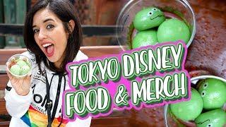 Tokyo Disneyland and Tokyo Disney Sea Food and Merch Tour Vlog 2018