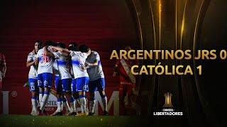Argentinos Juniors vs. Universidad Católica [0-1]   RESUMEN   Fecha 4   CONMEBOL Libertadores 2021
