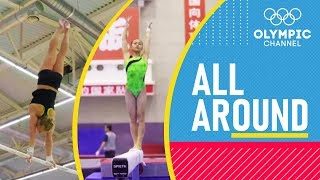 Upgrade Season   Yile, Morgan and Angelina work on their routines for 2020   All Around   Ep. 6