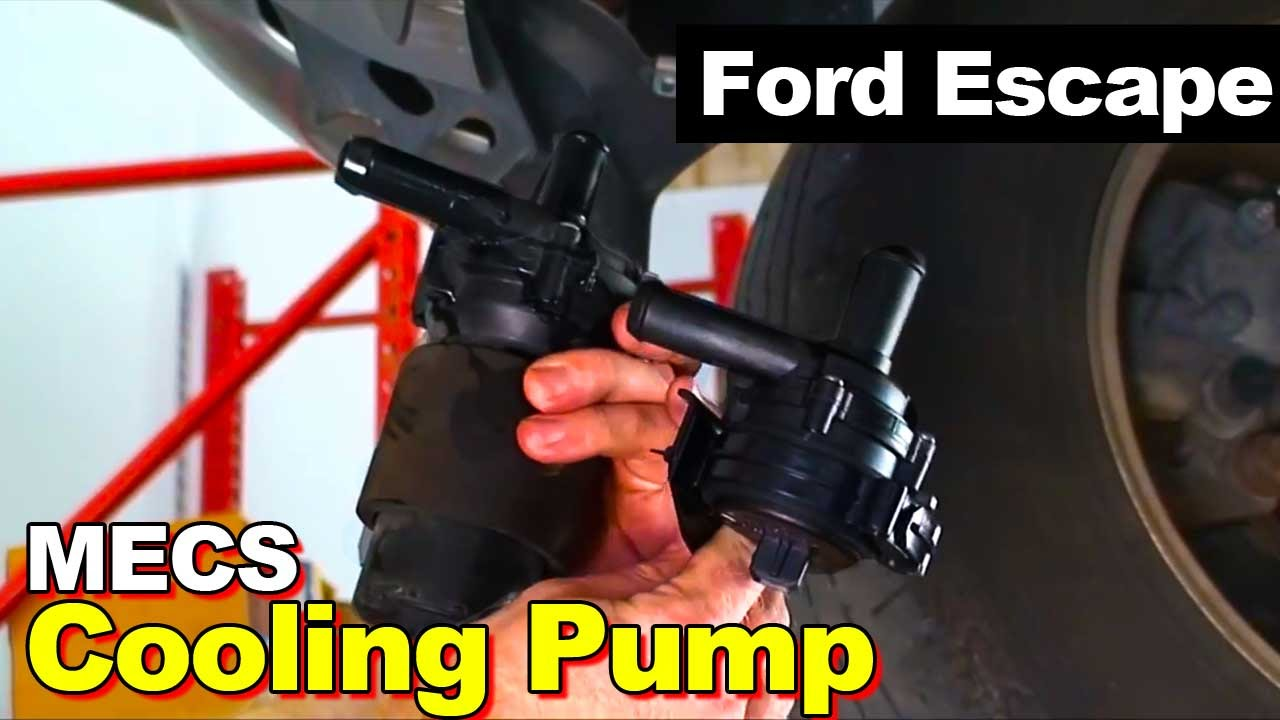 2006 ford escape hybrid mecs cooling pump youtube. Black Bedroom Furniture Sets. Home Design Ideas