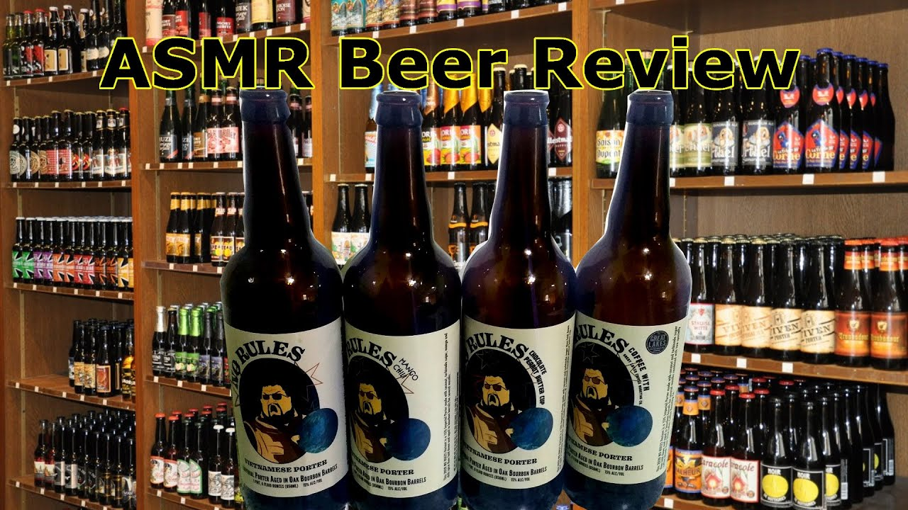 No Rules 2020 ASMR Beer Review All Variets