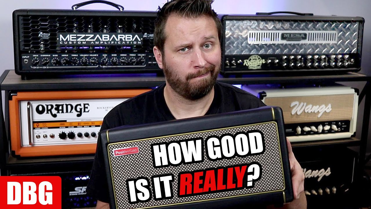 Positive Grid Spark vs Tube Amps - Let's Find out How Good it REALLY Is!