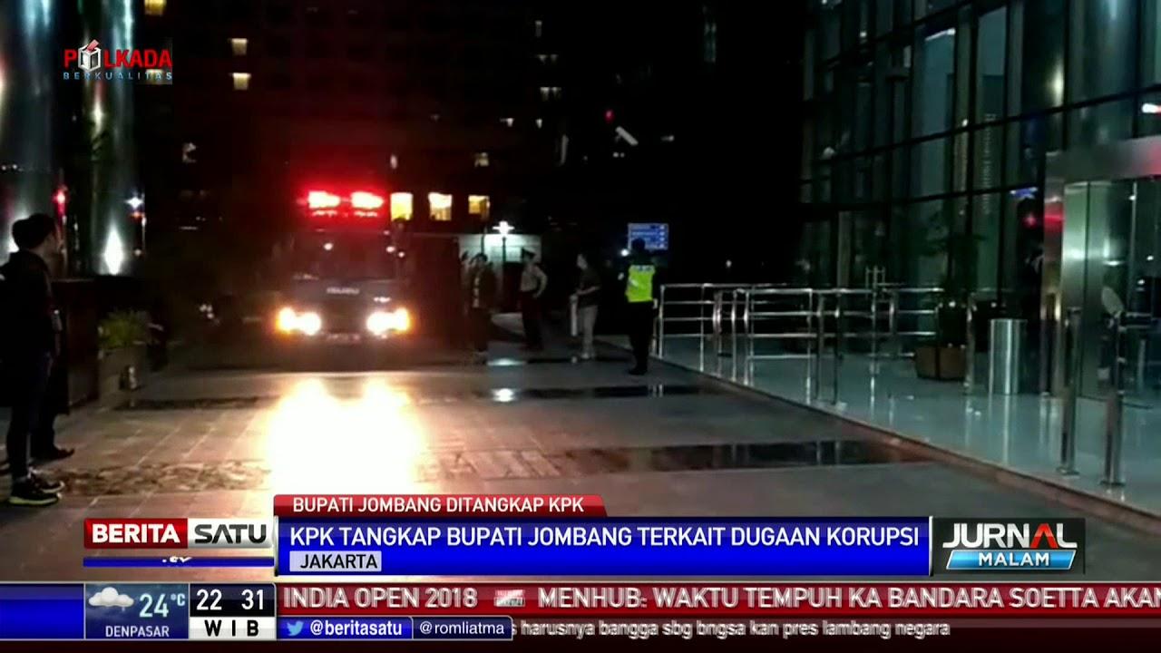 Ott Kpk Photo: Bupati Jombang Kena OTT KPK