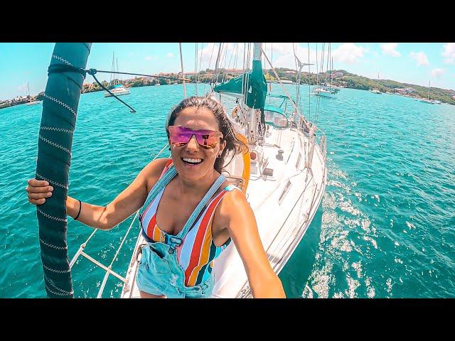 CHANGED OUR CATAMARAN FOR A MONOHULL?! | Sailing A Sailboat