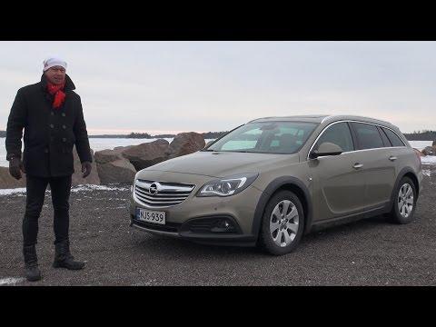 Koeajossa Opel Insignia Country Tourer 2015