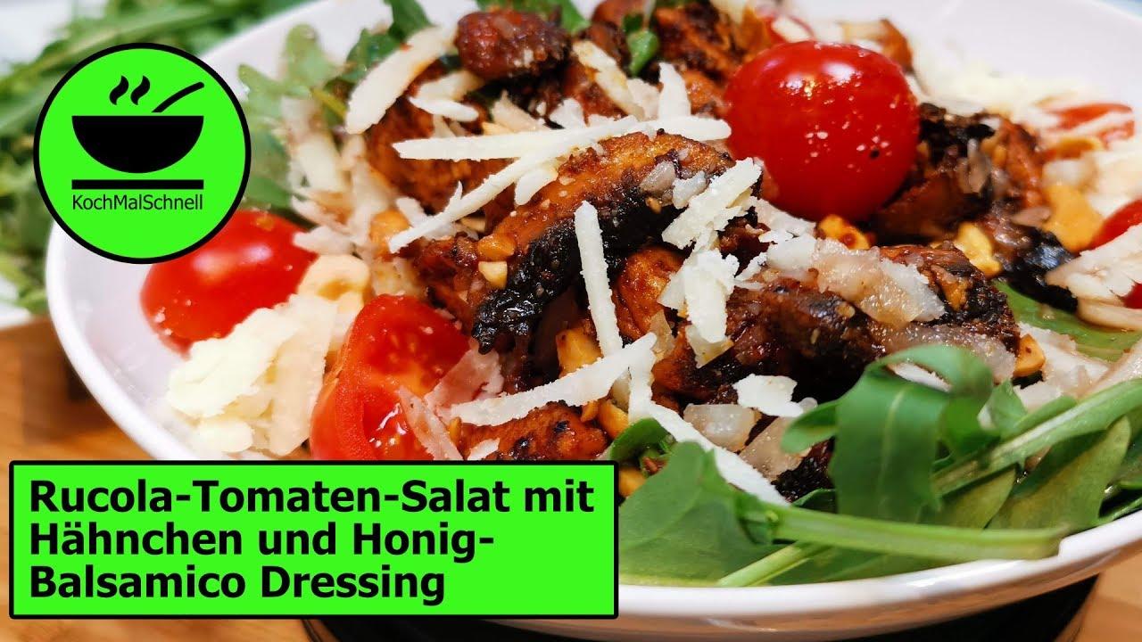 dressing rucola tomaten salat