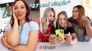 Roommates Take Over My Online DATING APPS!! *they roast the sh*t outta me
