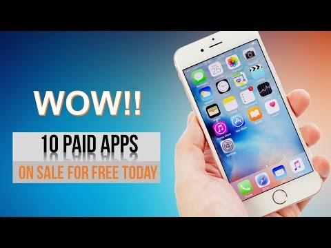 TOP 10 Paid iPhone Apps on Sale for FREE Today