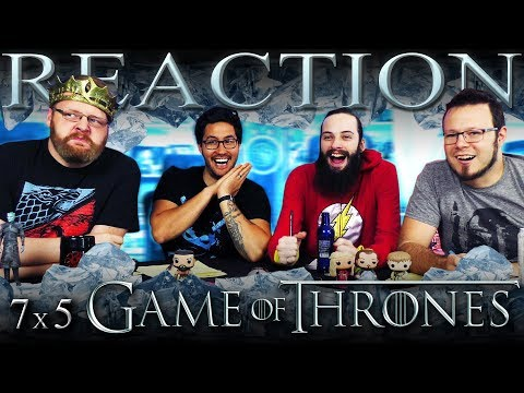 "Game of Thrones 7x5 REACTION!! ""Eastwatch"""