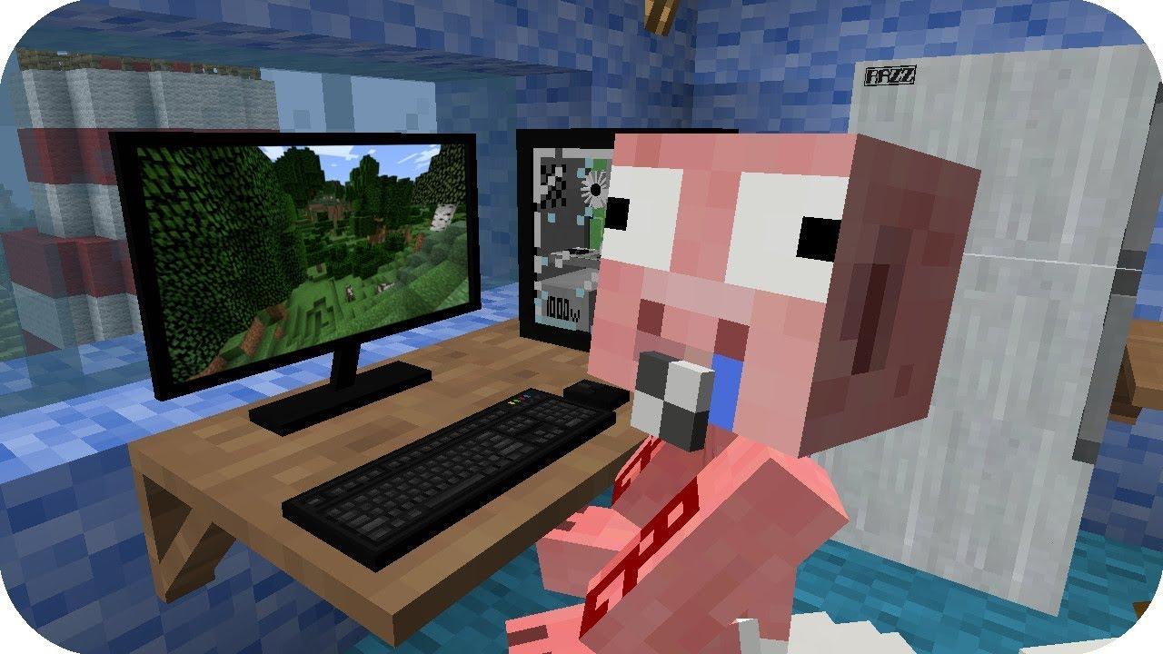 Bebe Aenh Juega Minecraft Minecraft Aventuras Bebe Aenh Youtube