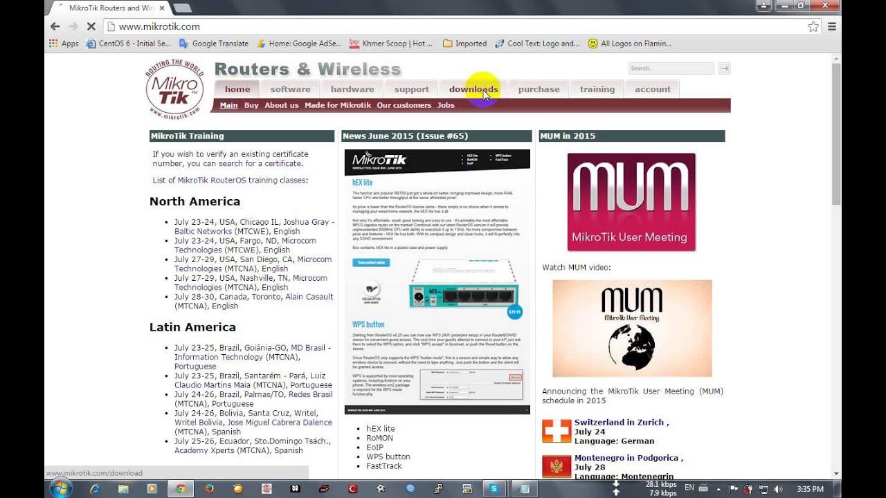 Free download mikrotik os.