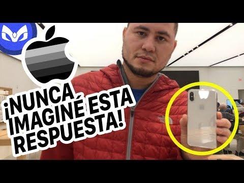 FUI A APPLE POR iPHONE X DAÑADO Y DIJERON...