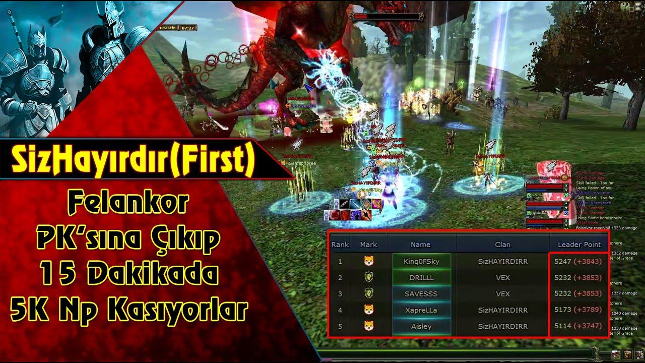 SizHayırdır (First) 15 Dakikada 5K NP Kasıyorlar.    Knight Online   CZ   PK