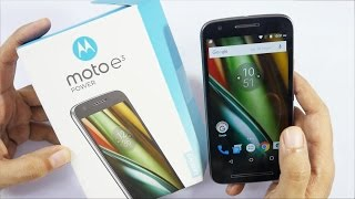 Moto E3 Power Budget Android Phone Unboxing & Oveview