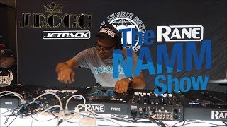 J Rocc LIVE DJ Set for the JetPack, Beat Junkies, Rane booth at the NAMM Show 2019