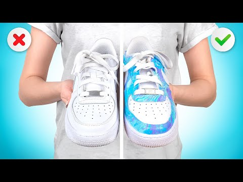Customize your Nike AIR Force with Hydro Dipping