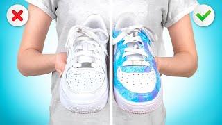 DIY CUSTOM Nike Air Force!
