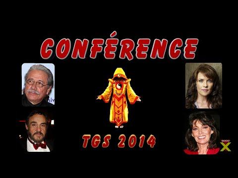 Conférence TGS 2014 - Amada Tapping + Edward James Olmos + Sarah Douglas + John Rhys Davies