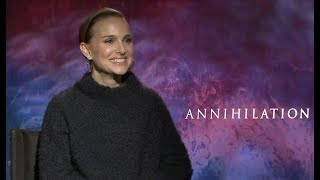 Natalie Portman interview for ANNIHILATION