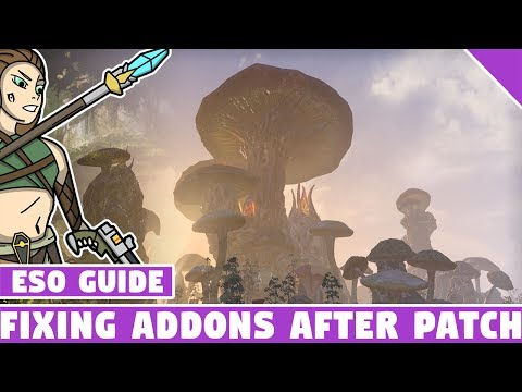 Fixing ESO Addons After a Major Patch - Out of Date Addons - Elder Scrolls Online